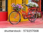 editorial use only  flower... | Shutterstock . vector #573257008
