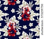 floral pattern | Shutterstock .eps vector #573259750