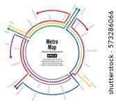 metro map vector. city... | Shutterstock .eps vector #573286066
