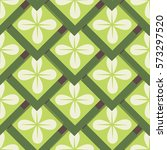 seamless pattern with geometric ... | Shutterstock .eps vector #573297520
