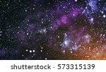 high definition star field... | Shutterstock . vector #573315139