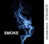 vector abstract smoke... | Shutterstock .eps vector #573318370