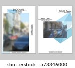 vector brochure cover templates ... | Shutterstock .eps vector #573346000