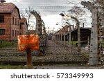 oswiecim  poland   november 23  ... | Shutterstock . vector #573349993