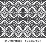 seamless geometric pattern.... | Shutterstock .eps vector #573367534