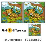find differences education game ... | Shutterstock .eps vector #573368680