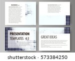 set of business templates for... | Shutterstock .eps vector #573384250