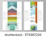 blog graphic business templates.... | Shutterstock .eps vector #573387220