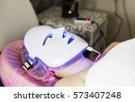 photodynamic therapy facial... | Shutterstock . vector #573407248