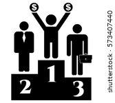 vector illustration of business ... | Shutterstock .eps vector #573407440