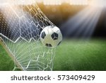 Soccer Ball In Goal