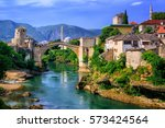Old Town Of Mostar  Bosnia And...