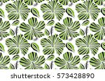hand painted illustration in... | Shutterstock . vector #573428890