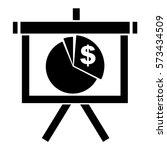 vector illustration of pie... | Shutterstock .eps vector #573434509