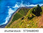 aerial view from the highest... | Shutterstock . vector #573468040