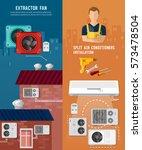 split system  check... | Shutterstock .eps vector #573478504