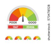 vector illustration of credit... | Shutterstock .eps vector #573478528