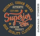 original urban brand  superior...   Shutterstock .eps vector #573480838