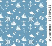 vector seamless pattern with...   Shutterstock .eps vector #573484153