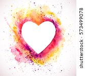 Vector Watercolor Heart...