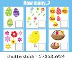counting educational children... | Shutterstock .eps vector #573535924