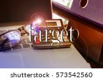 target word  text with business ... | Shutterstock . vector #573542560
