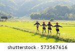 A Teenage Group Of Hilltribe In ...