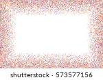 colored frame isolated on white ... | Shutterstock .eps vector #573577156