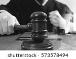 justice and law concept.male... | Shutterstock . vector #573578494