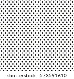 Black Dots On White Background Halftone Color