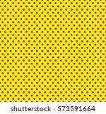 Pop Art Seamless Pattern. Red...