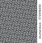 islamic black and white pattern....   Shutterstock .eps vector #573598450