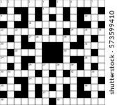 15x15 squares empty british...   Shutterstock .eps vector #573599410