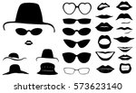 set of interchangeable women...   Shutterstock .eps vector #573623140