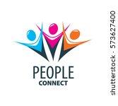 vector logo people | Shutterstock .eps vector #573627400