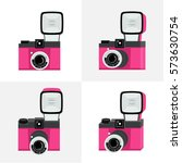 set of different perspectives.... | Shutterstock .eps vector #573630754