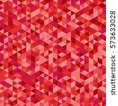Triangular Red Background Vector