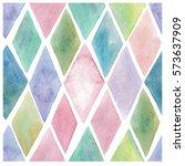 watercolor seamless pattern.... | Shutterstock .eps vector #573637909
