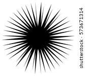 asymmetric edgy circular shape... | Shutterstock .eps vector #573671314
