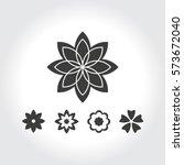 flower | Shutterstock .eps vector #573672040