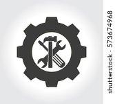 tools vector icon | Shutterstock .eps vector #573674968