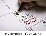 build a great company culture | Shutterstock . vector #573712744