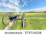 Old Cannon In Manassas Nationa...