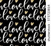 modern calligraphy style... | Shutterstock .eps vector #573723814