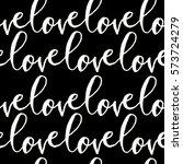 modern calligraphy style...   Shutterstock .eps vector #573724279