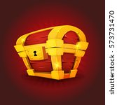 treasure chest icon for game ui ...