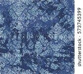 vector watercolor splashes... | Shutterstock .eps vector #573745399