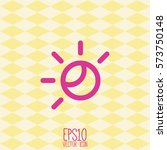 weather icon. flat style for...   Shutterstock .eps vector #573750148