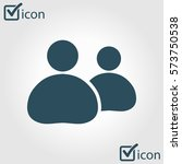 people or social sign icon. the ...
