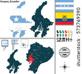 vector map of province of... | Shutterstock .eps vector #573769390